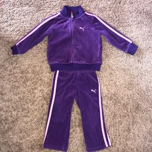 Super Cute Puma Sweatsuit